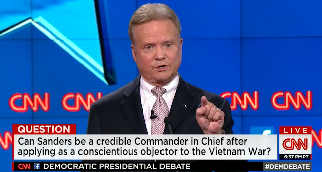 Jim Webb CNN presidential debate commander in chief Democratic Party