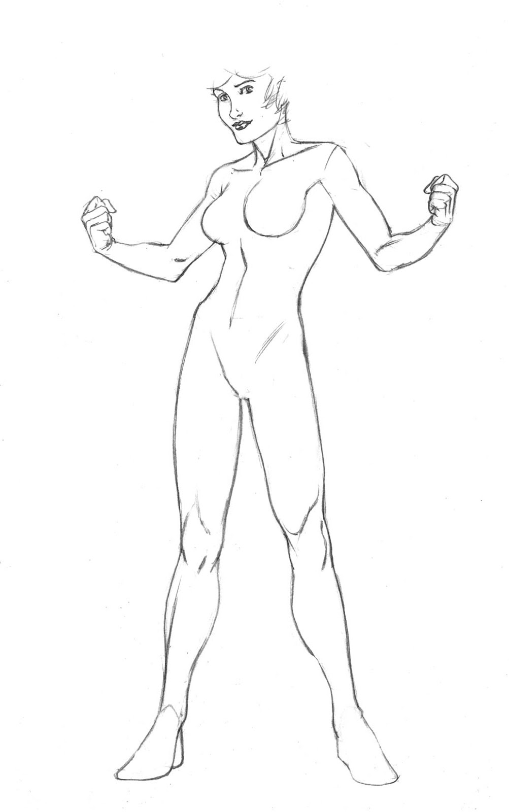 female superhero character templates www