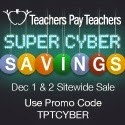 Teachers Pay Teachers Super Cyber Savings