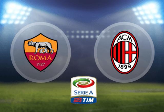 ملخص مباراة روما وميلان
