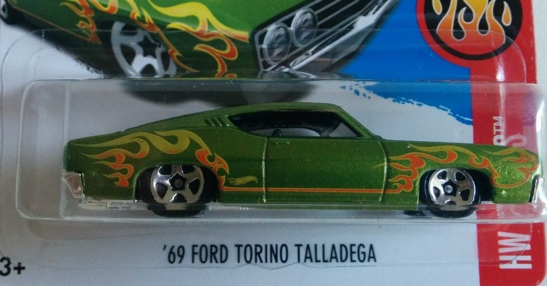 hot wheels 2017 69 ford torino talladega