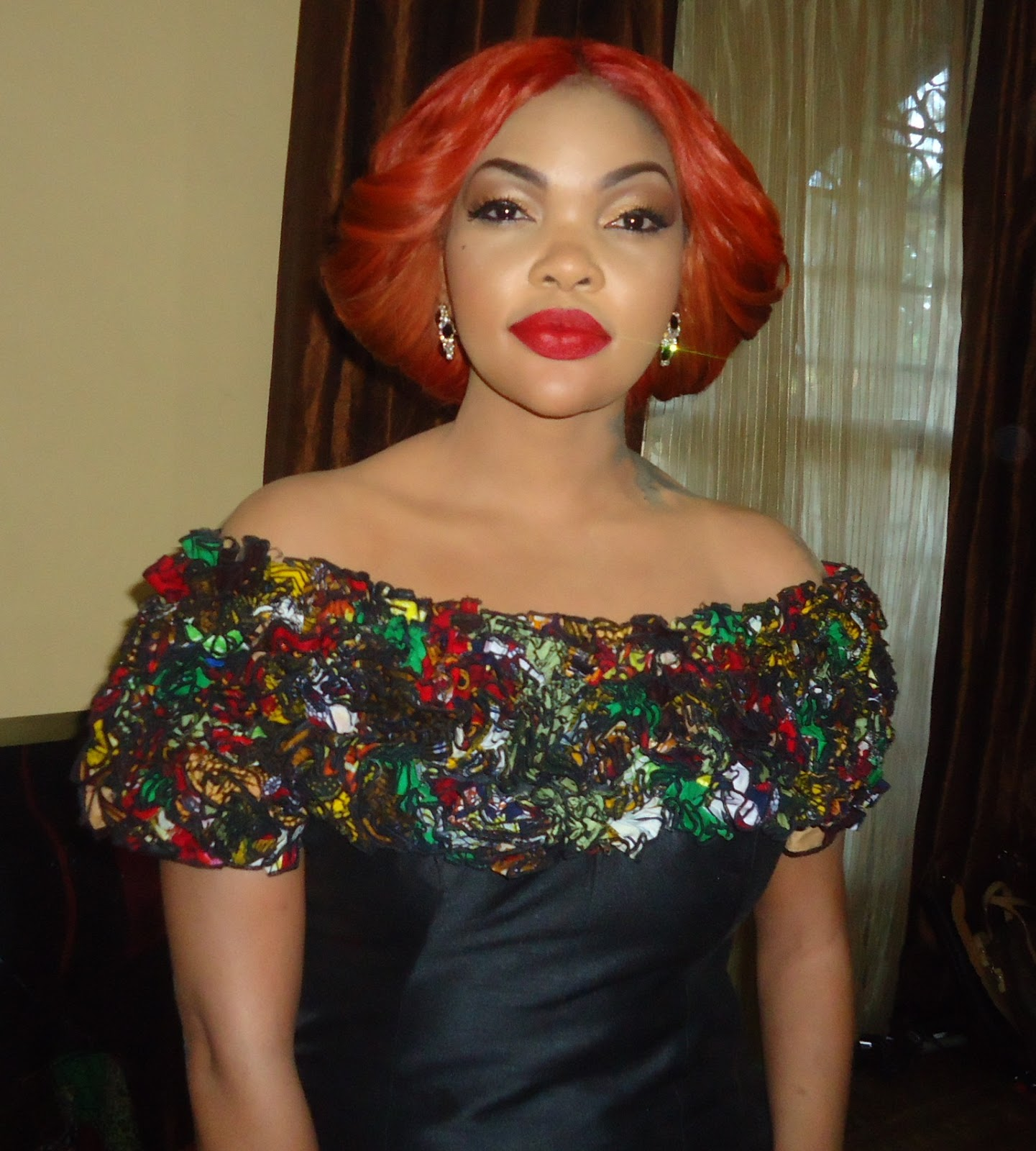 Glambox:Beautiful make~up is our hallmark!: Wema Sepetu the showstopper :Womens Celebration 2013