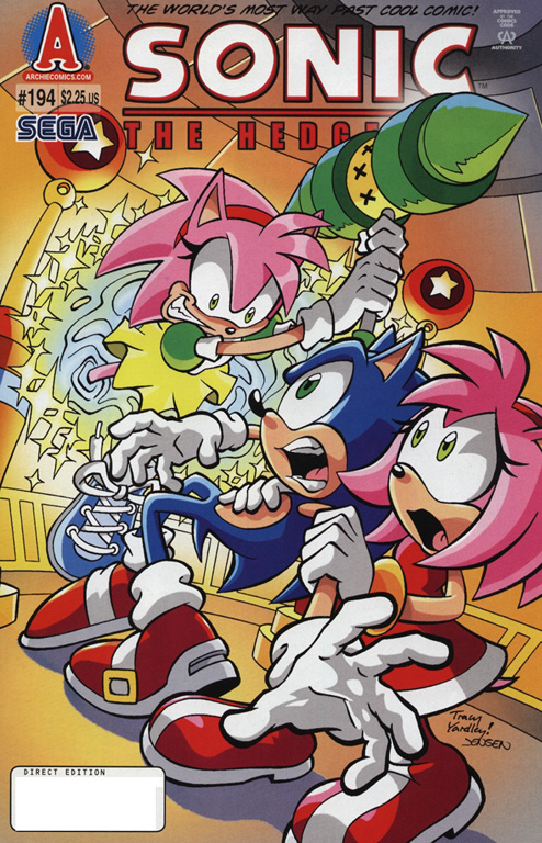 the tails archive sonic the hedgehog issue 194 español rinoa83