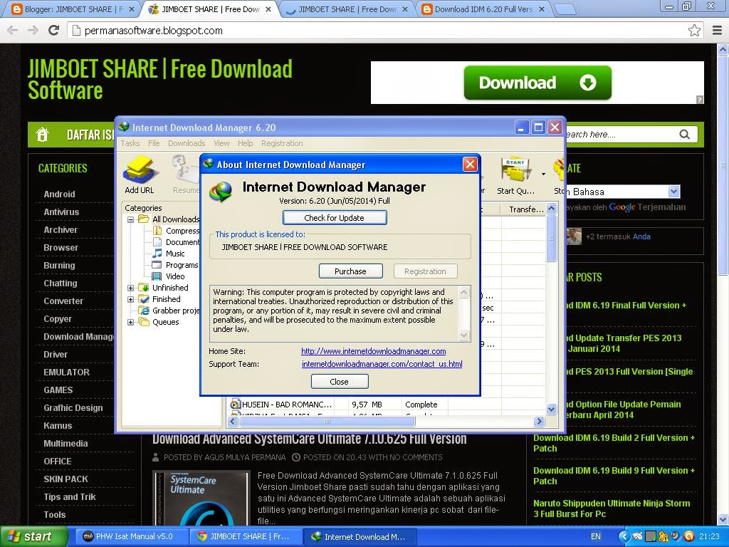 download idm full versi