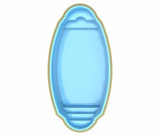 Saiba qual é Preço piscina de fibra Tropical TP700