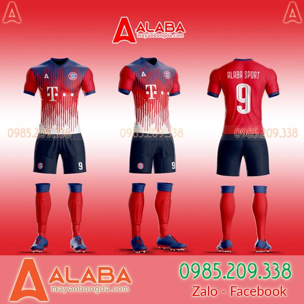 Áo Bayern Tự Thiết Kế Đẹp 2019 mã ALB BA09
