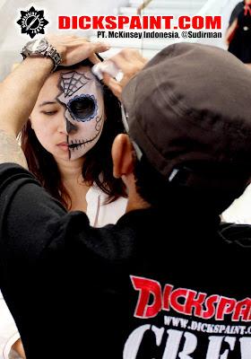 Make Up Horror Zombies Jakarta