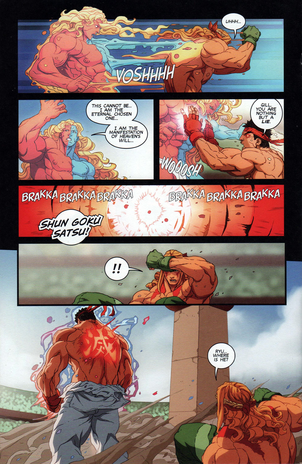 Street Fighter Unlimited 011 (2016)  | Vietcomic.net reading comics online for free