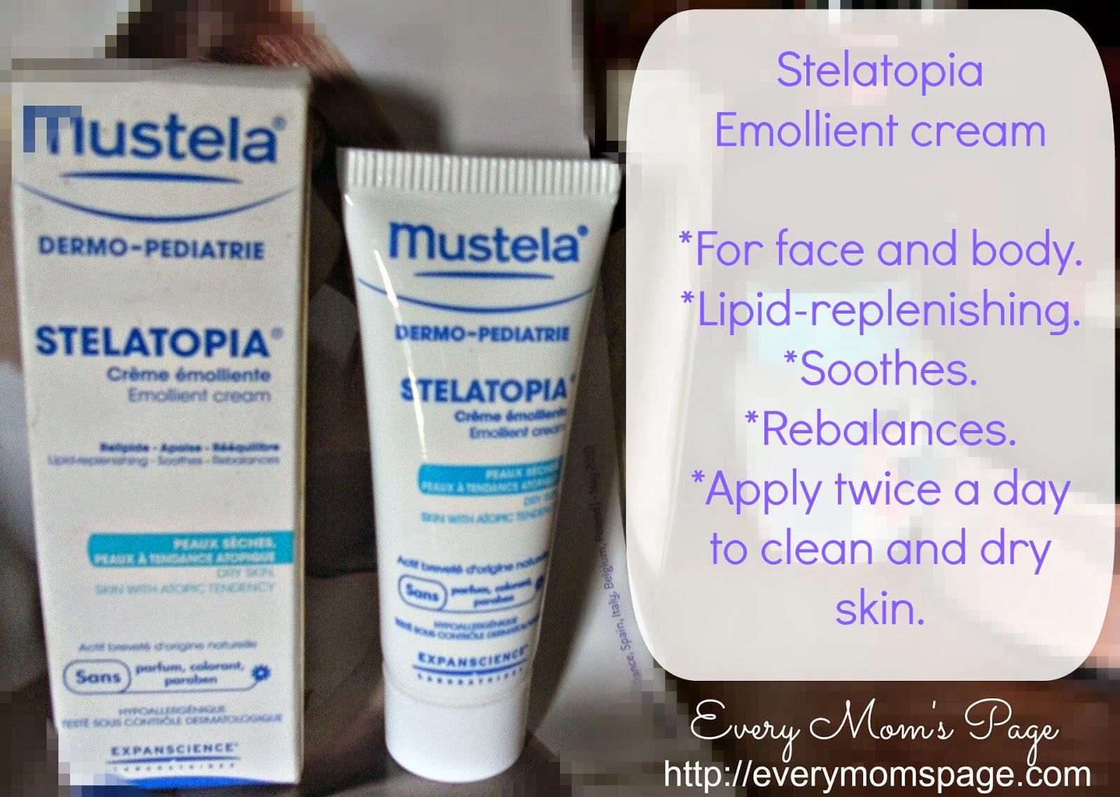 Stelatopia Emollient Cream by mustela #3