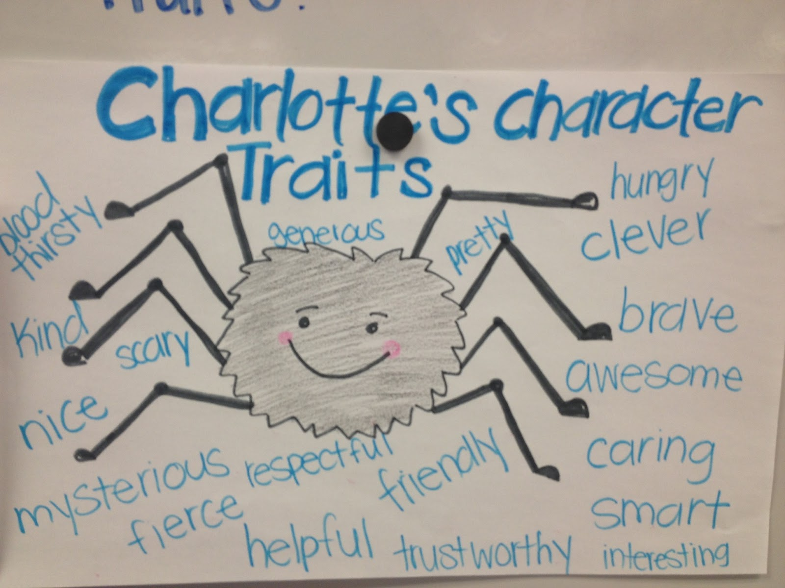 Look Who S Teaching Charlotte S Web D Some News