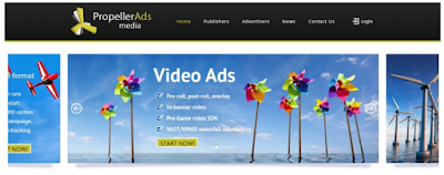 Ad Networks:PropellerAds
