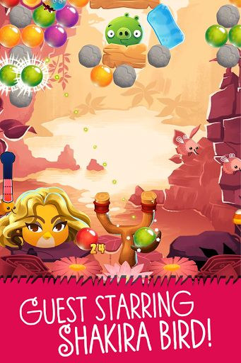 A Bird Version of Shakira Guest Stars in Angry Birds Friends and