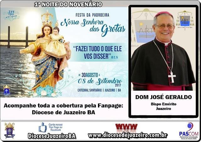 COMEÇA HOJE (30) O NOVENÁRIO DA PADROEIRA DA DIOCESE DE JUAZEIRO-BA