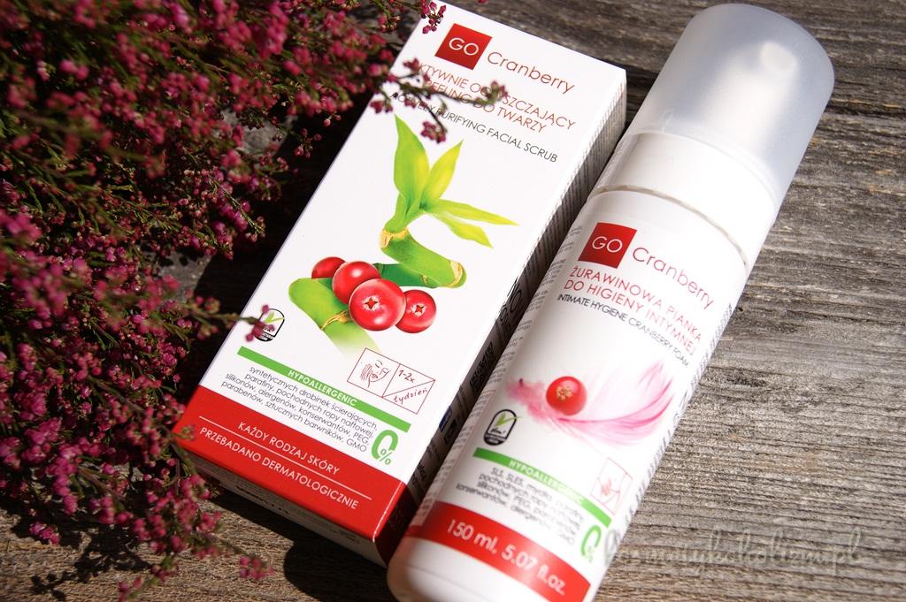 GoCranberry | Peeling do twarzy, Pianka do higieny intymnej | WYNIKI KONKURSU