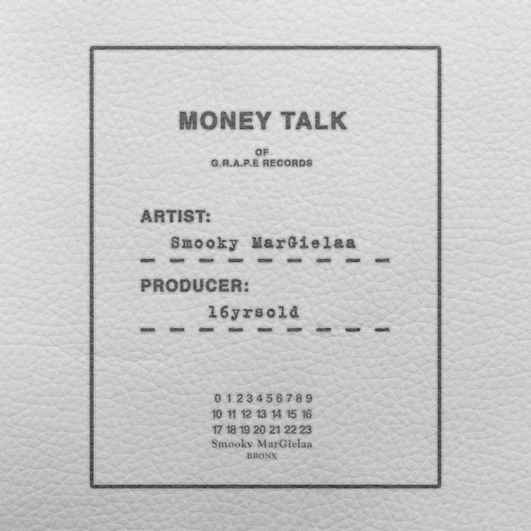 Smooky MarGielaa - Money Talk - Single Cover