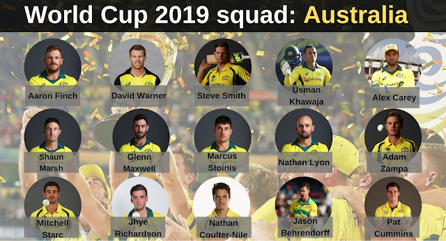 Australian Players in the World Cup Squad