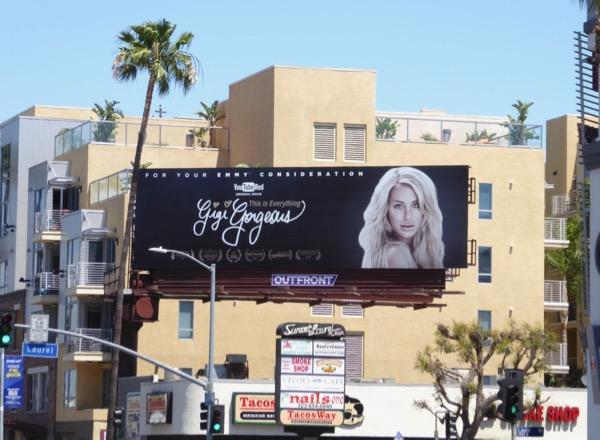 Gigi Gorgeous Emmy fyc billboard
