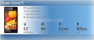37. Huawei Ascend P1