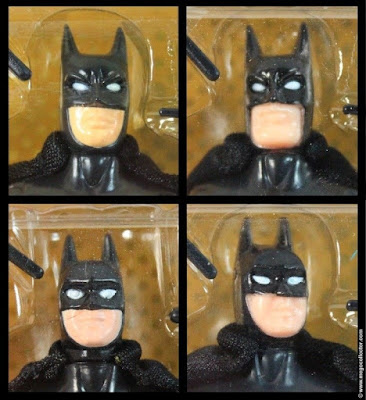 Toy Biz Batman Figure Head Face Variants