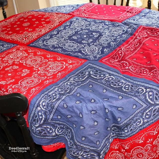 http://www.doodlecraftblog.com/2012/07/patriotic-bandana-tablecloth.html
