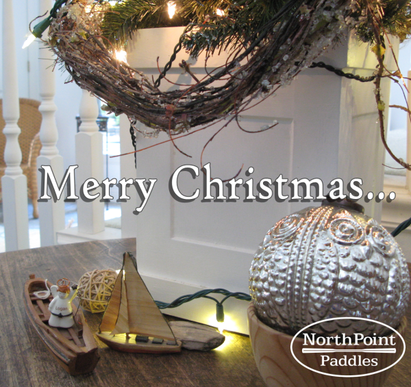 Merry Christmas from NorthPoint Paddles