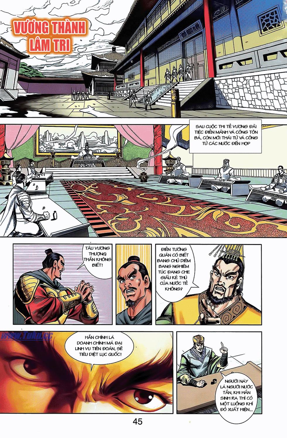 Tần Vương Doanh Chính chapter 7 trang 4
