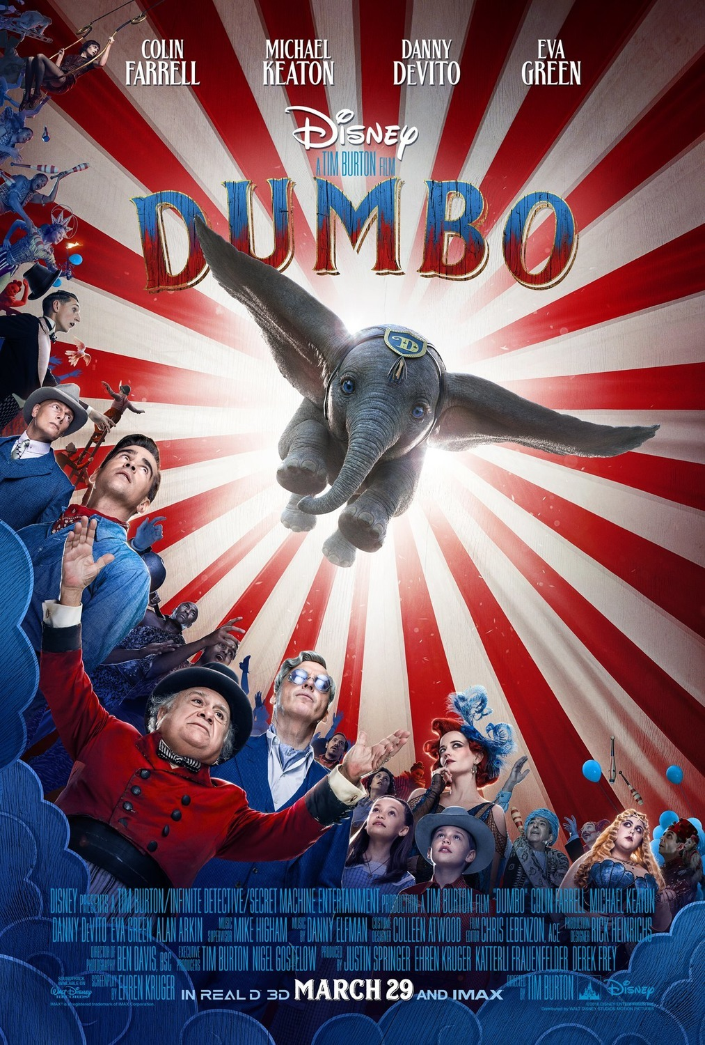 If I Joined the Circus... {+ Dumbo Soars To Theaters March 29}