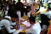 Ribuan Pelamar Kerja Padati Job Fair SMK Jember