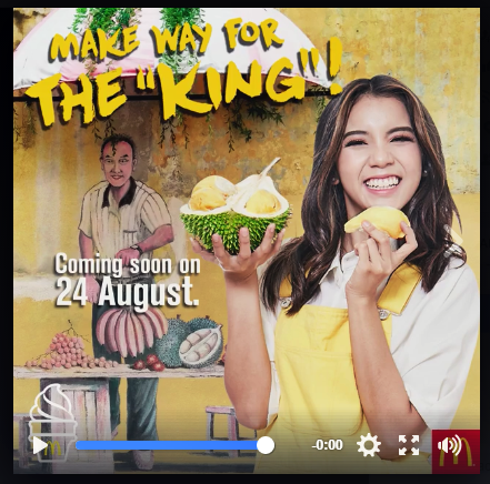 MCDONALD'S D24 DURIAN MCFLURRY Coming This Thursday, 24 August!