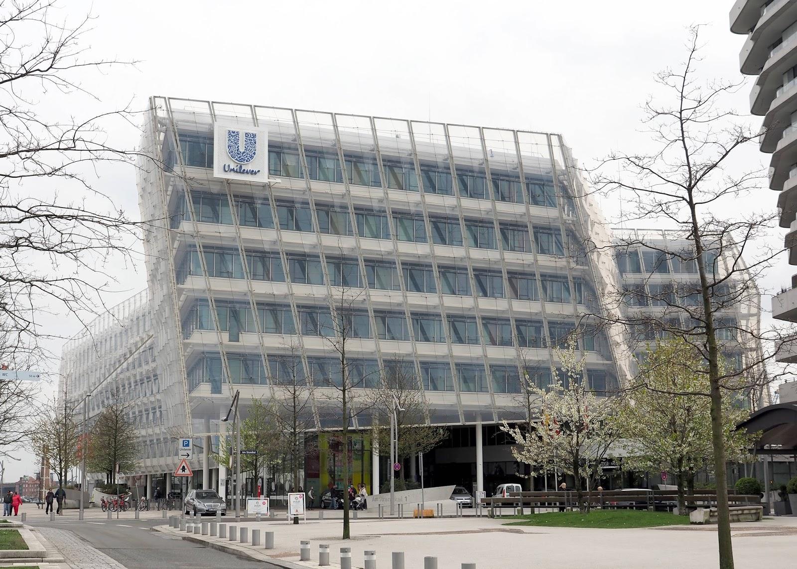 Hamburg 2016 - Unilever Headquarter and Marco Polo Tower