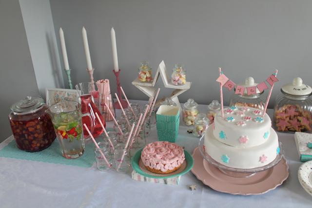 eerste verjaardag sweet table