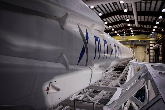SpaceX Falcon 9 Rocket Prepped For Launch On May 6, 2016