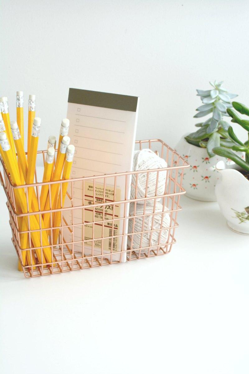 DIY copper desk tidy | BURKATRON
