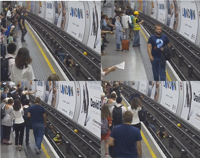 Hero Of Tottenham Court Road: Man Jumps Onto Live Tube Tracks To Save A Man