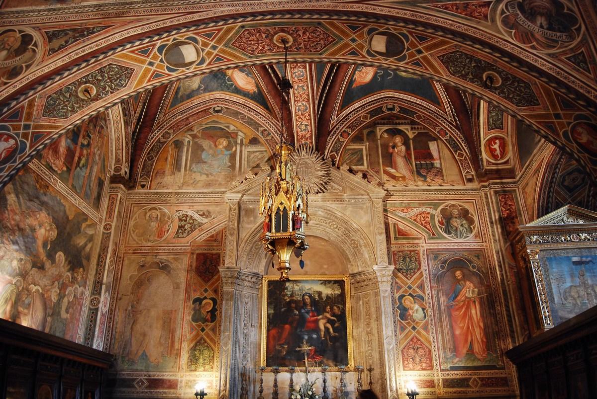 chapelle du Palazzo Publico
