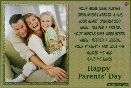 Best Image Quotes Of Parents Day 2016