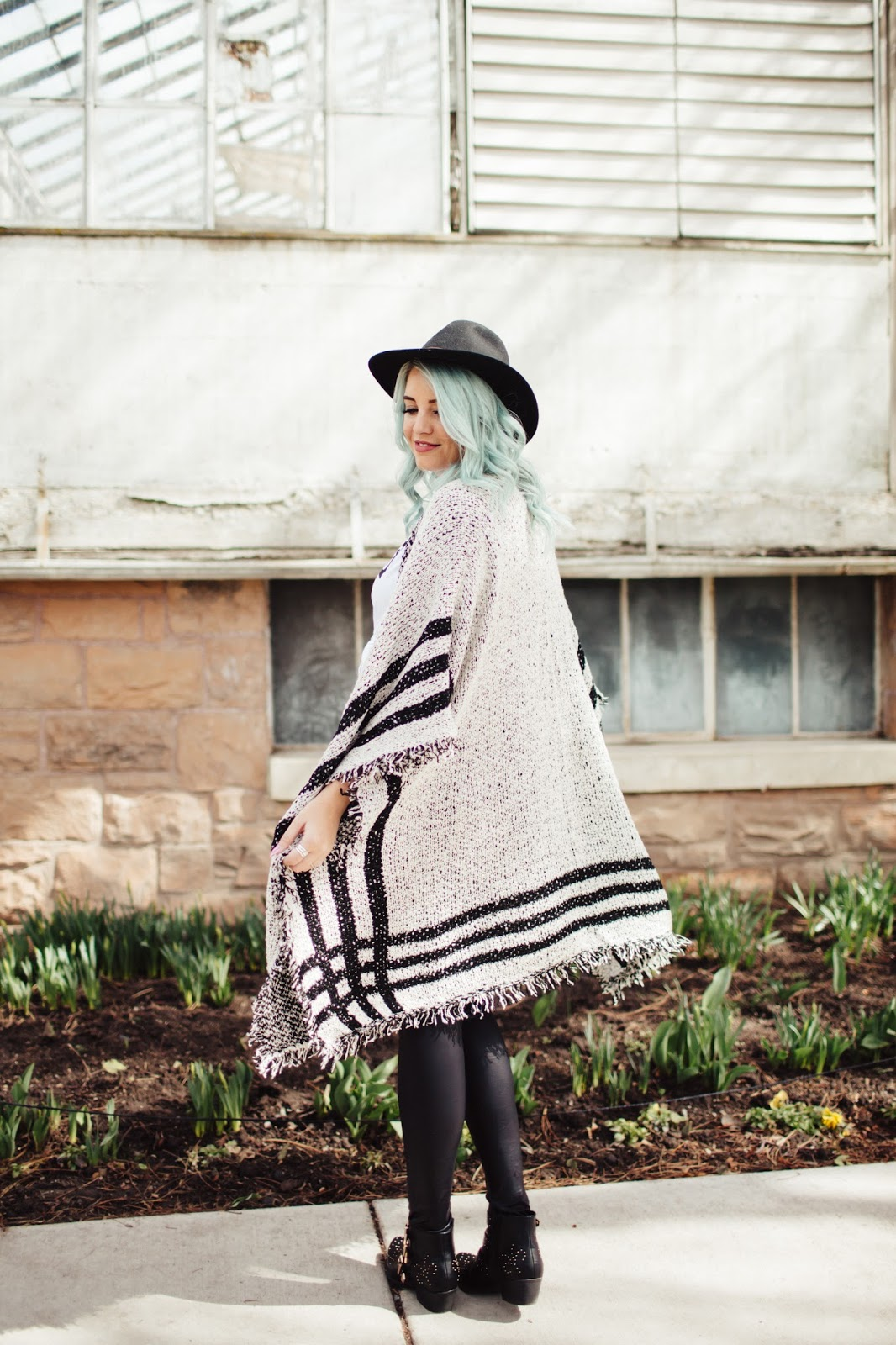 Cute Kimono, Cold style, Black and White