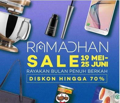 Promo Pesta Diskon Ramadhan Sale Dari Lazada 2017