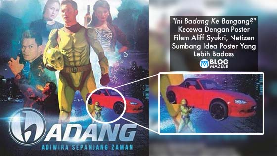 Kecewa Dengan Poster Filem 'Badang' Aliff Syukri, Netizen Sumbang Idea Poster Yang Lebih Gempak