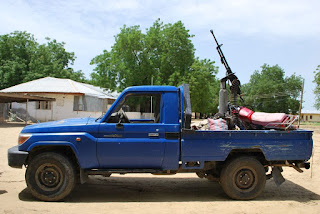Boko Haram gun truck recovered