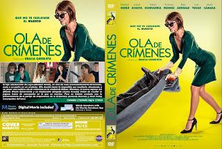 CARATULA OLA DE CRIMENES 2018 [ COVER DVD]