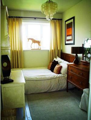 Desain Gambar Interior Kamar Tidur Minimalis Sederhana