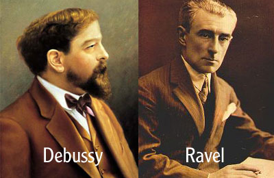 ravel and debussy relationship