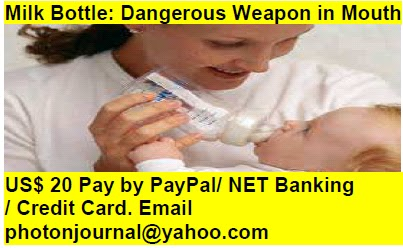 Milk Bottle: Dangerous Weapon in Mouth pregnancy book