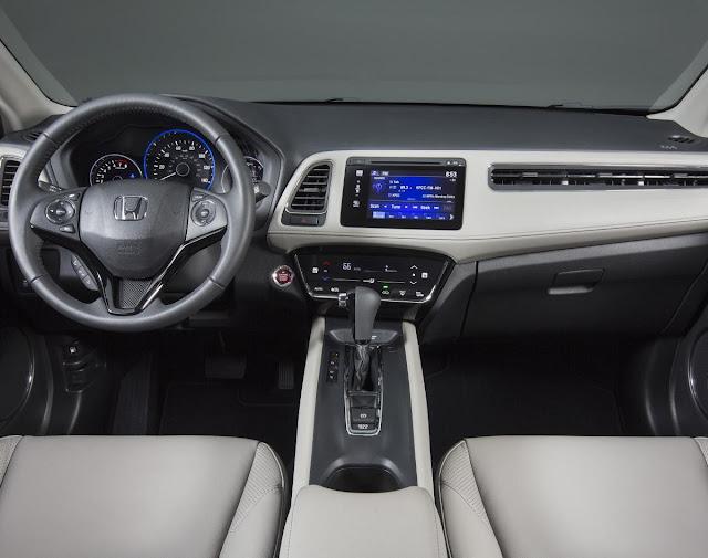 New Honda HR-V 2016 design interior dashboard view