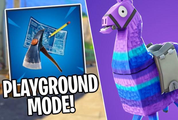 Nuevo modo: Playground,  próximamente en Fortnite