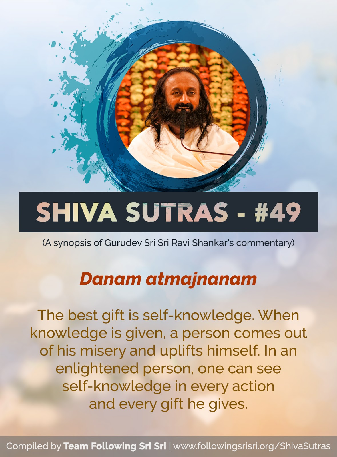 Shiva Sutras - Sutra 49