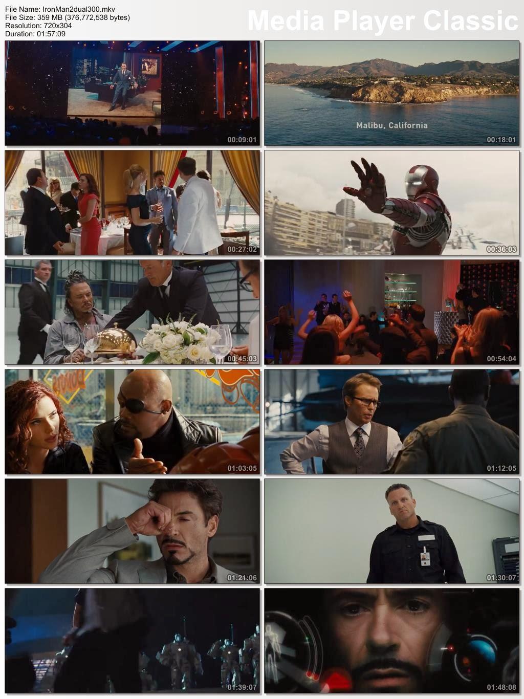 Iron Man 2 2010 Hindi Dual Audio