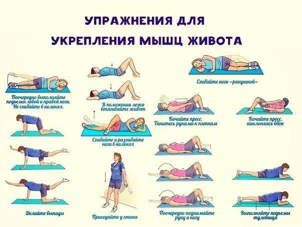 Гимнастика и упражнения для спины при остеохондрозе