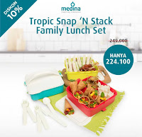 Dusdusan Tropic Snap and Stack Family Lunch Set ANDHIMIND